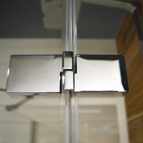 DEEP chrómové úchyty sprchový kút zvonka | LOTOSAN kúpeľne