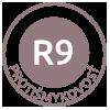 Protišmykovosť R9 - dlaždice s protišmykovou úpravou pre bezpečný pohyb, testované šmykom na rovine naklonenej 6 až 10°