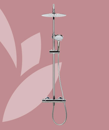 SHOWER SKY Duálny termostatický sprchový systém | LOTOSAN