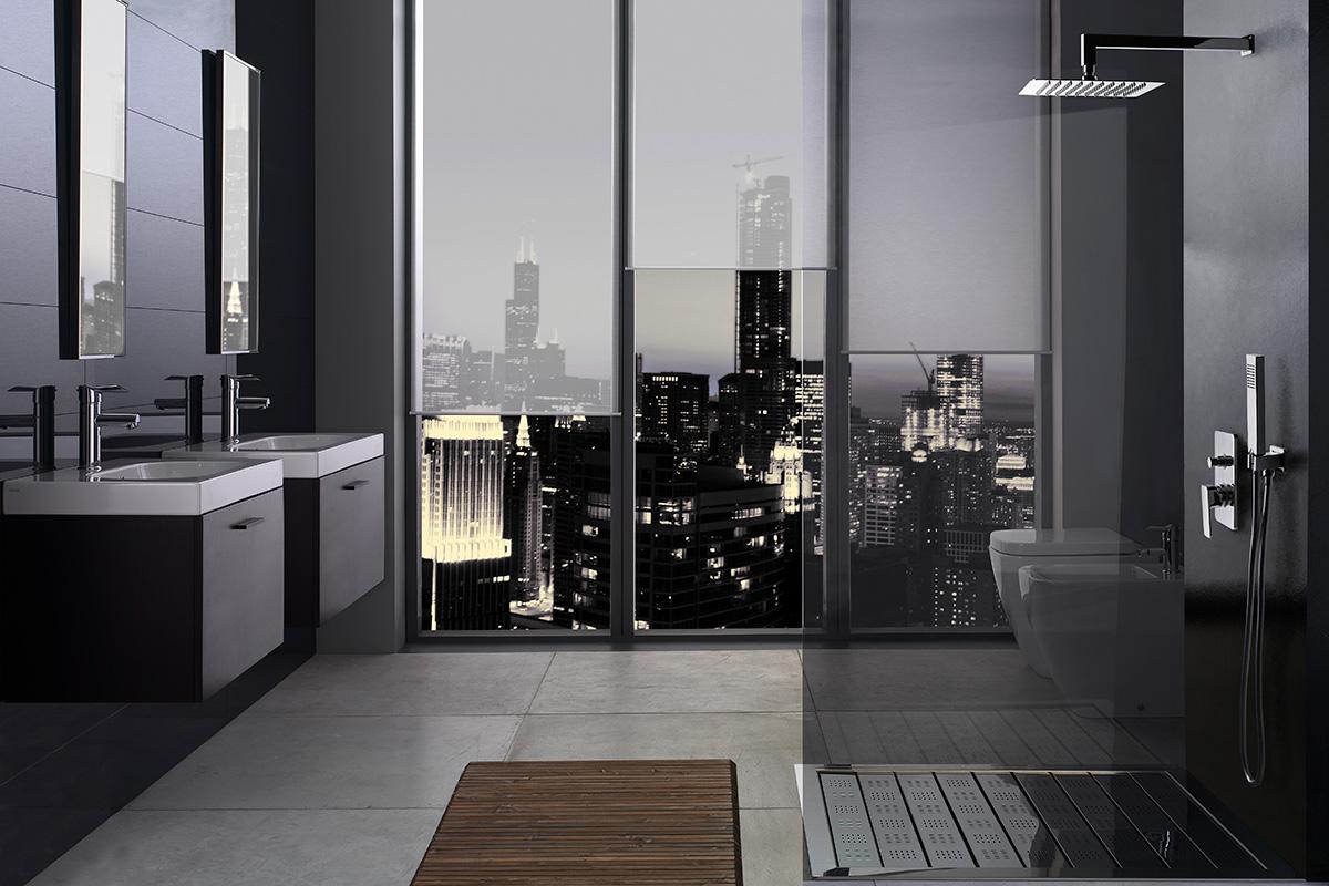 CATRINA podomietkový sprchový set | LOTOSAN kúpeľňa