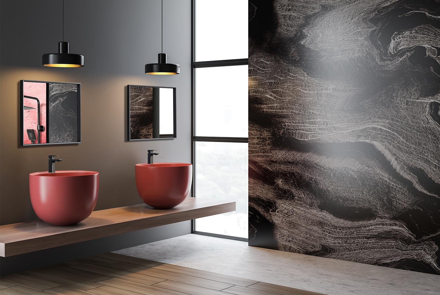Vysoká umývadlová batéria VICTORIA | LOTOSAN Kúpeľna a Interiér