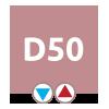 D50 pripojenie – interiérový radiátor MAYA | LOTOSAN
