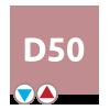 Pravé pripojenie D50 – radiátor Florida | LOTOSAN