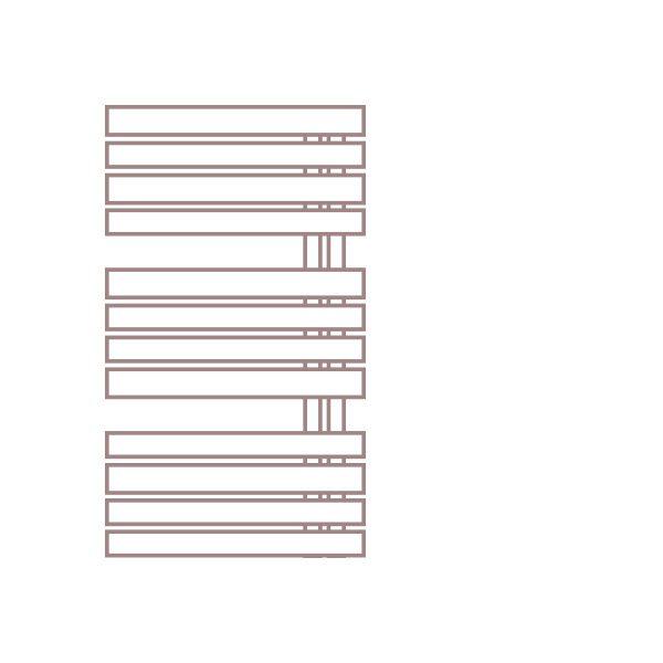 Radiátor FLORIDA 60 x 87,5 cm – LC35 White Silk