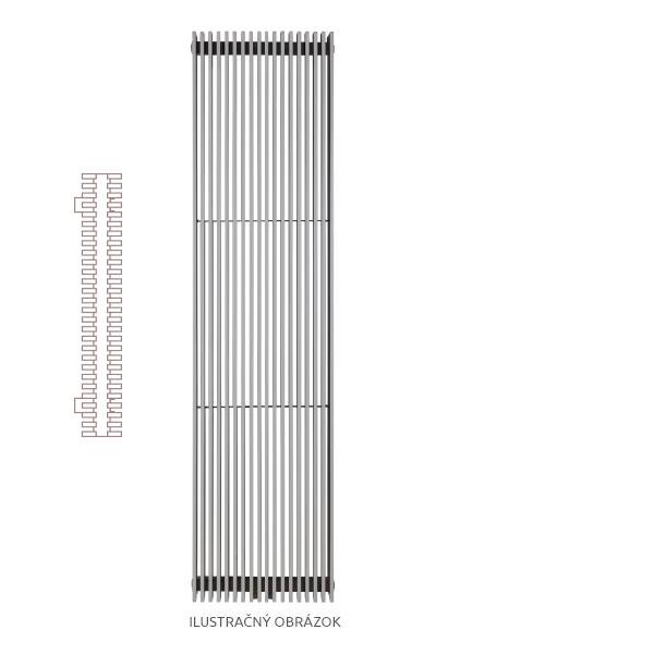 Radiátor MAYA Extra 51,1 x 180 cm
