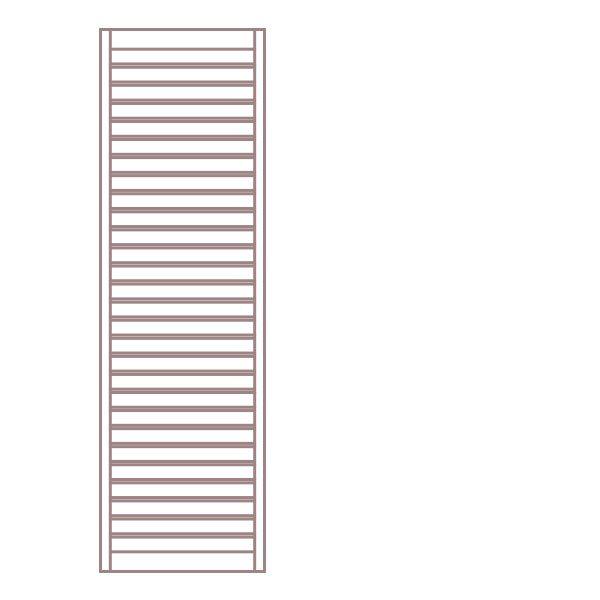 Radiátor NEVIS 60 x 165 cm