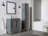 Kúpeľňový nábytok SENSEA z masívneho dubu | LOTOSAN Kúpeľne a interiér