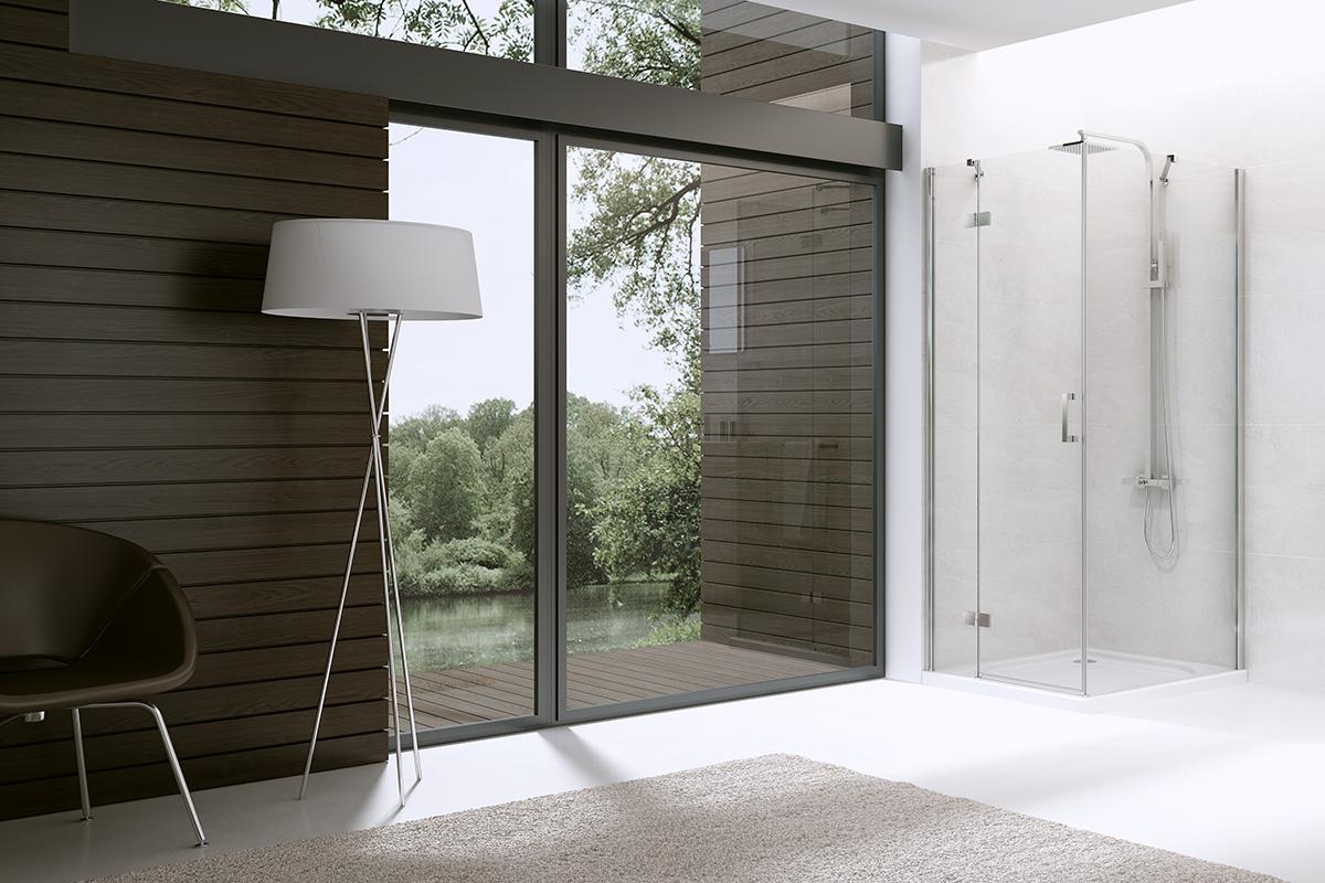 DEEP sprchový kút dvere stena | LOTOSAN kúpeľne