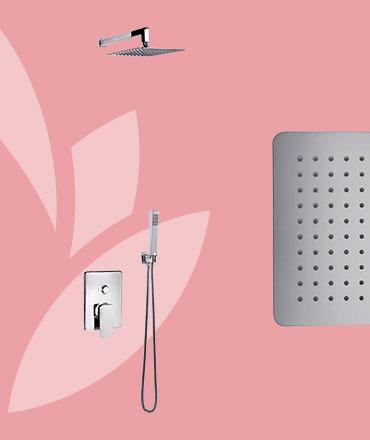 CATRINA Sprchový podomietkový set | LOTOSAN Kúpeľne