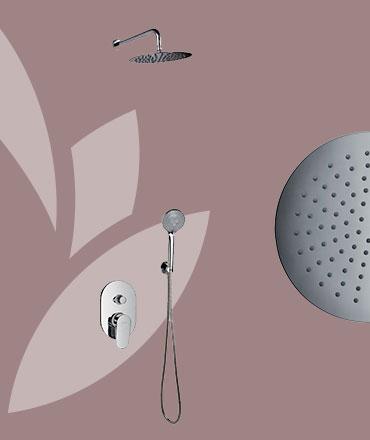 KIRK Sprchový podomietkový set | LOTOSAN