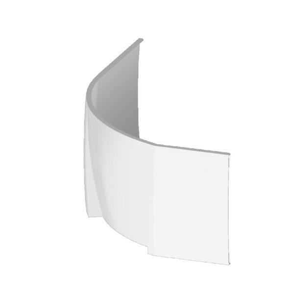 panel k asymetrickej vani | LOTOSAN kúpeľňa