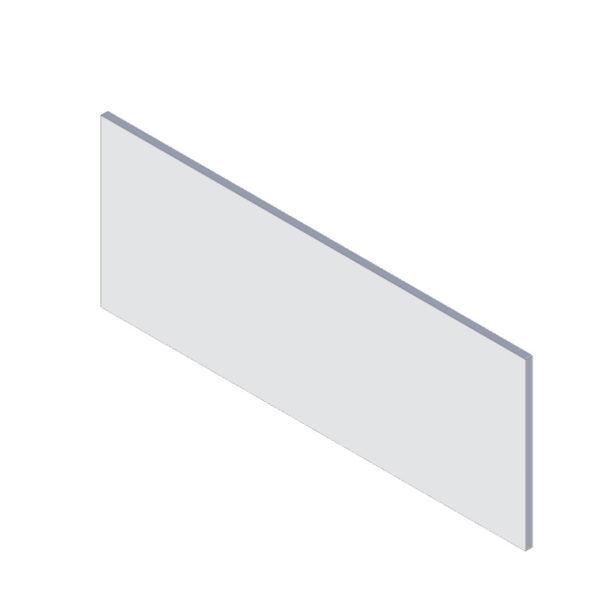 predný panel k pravouhlej vani 150 cm | LOTOSAN kúpeľňa