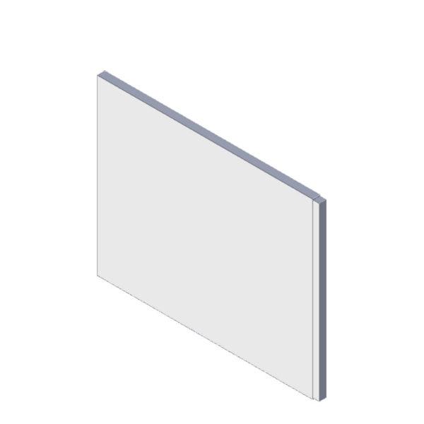 bočný panel k pravouhlej vani 75 cm | LOTOSAN kúpeľňa