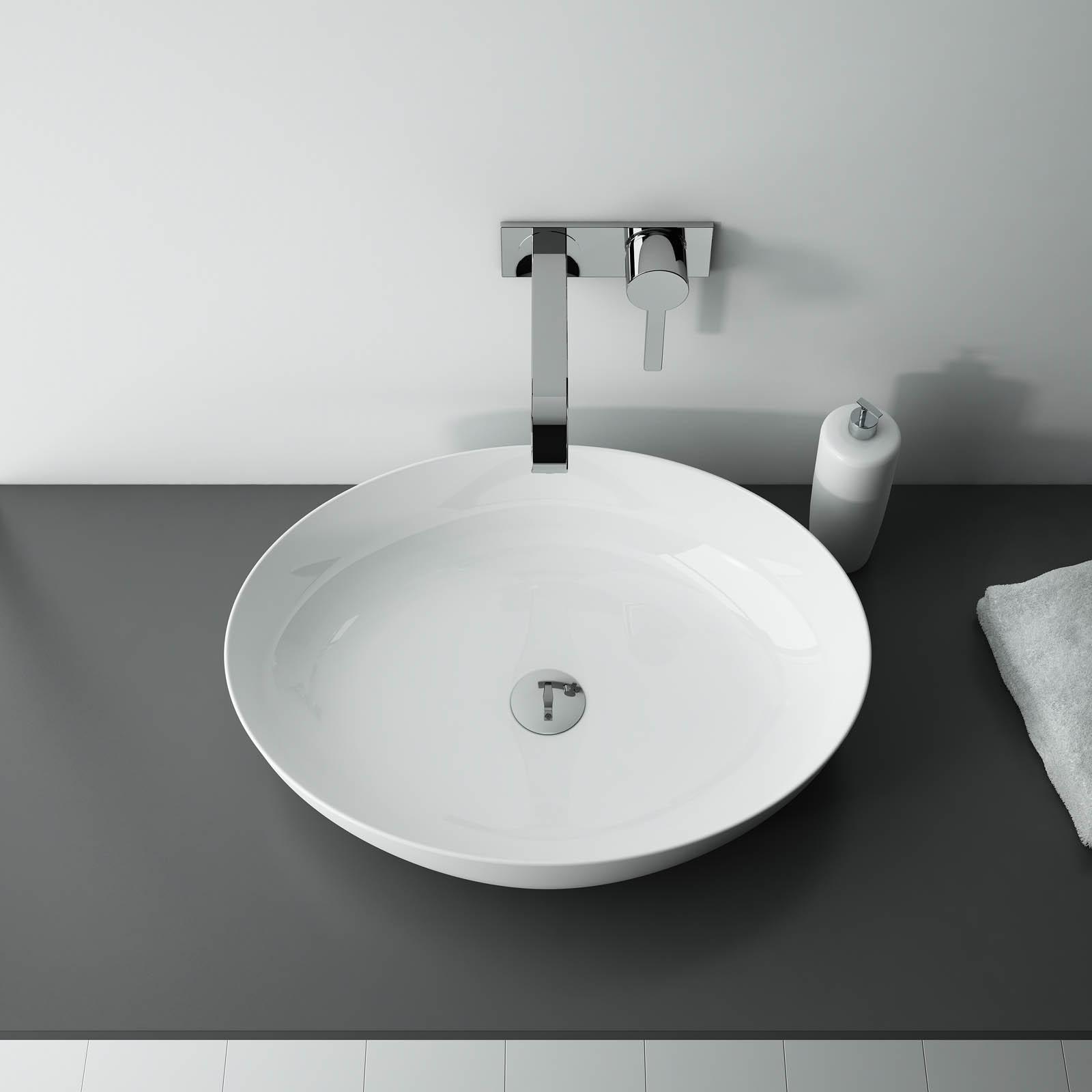 Umývadlo na dosku BLANCHE 52 x 39,5 cm | LOTOSAN Kúpeľne a Interiér