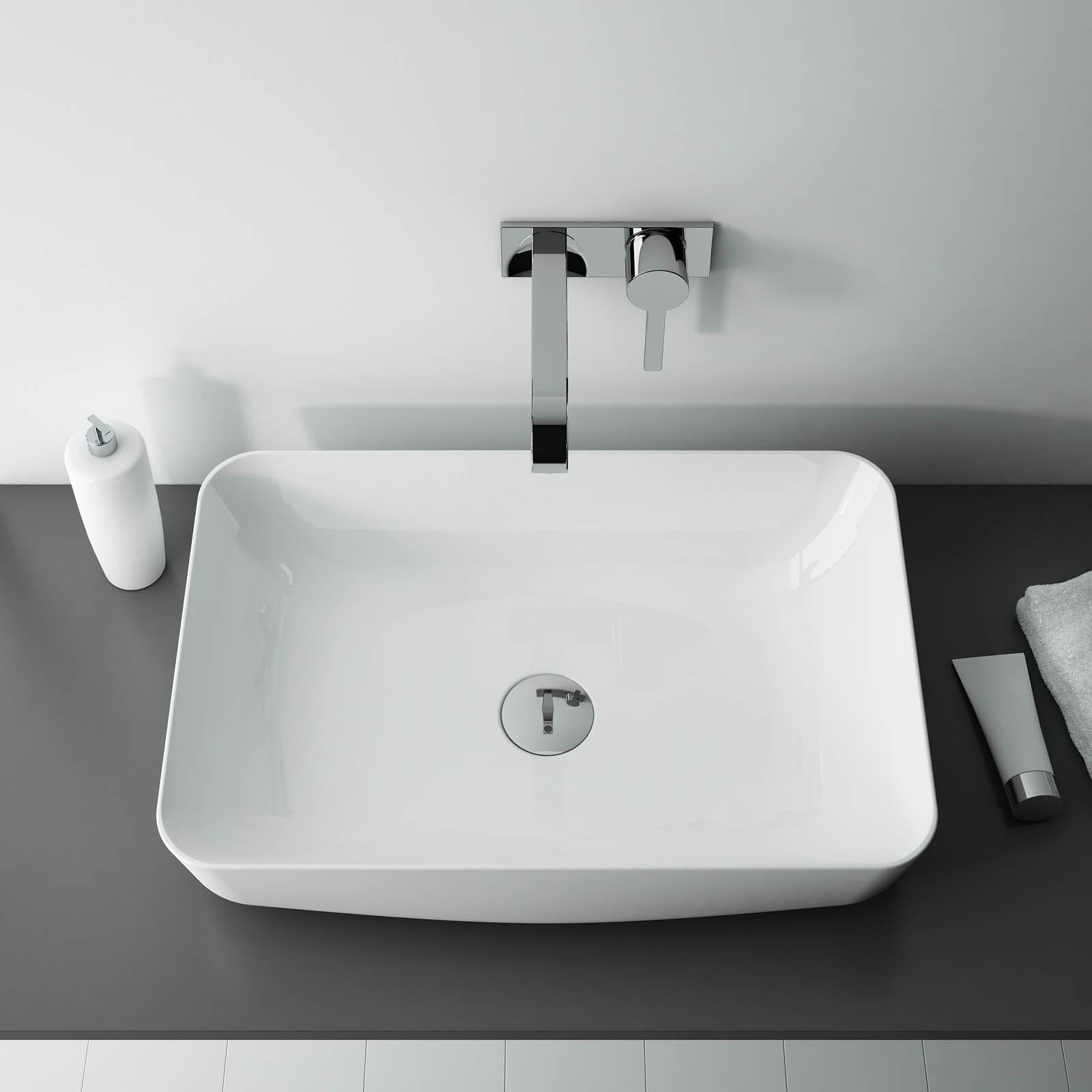 Umývadlo na dosku DAPHNE 50 x 39 cm   LOTOSAN Kúpeľne a Interiér