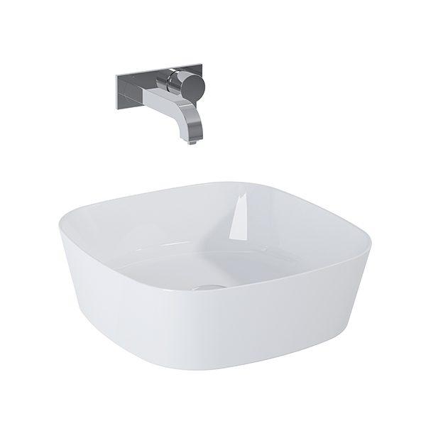 Umývadlo na dosku ELIZA 44 x 44 cm