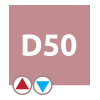 Ľavé pripojenie D50 – radiátor Florida | LOTOSAN