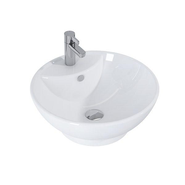 Umývadlo na dosku LUPO 45,5 x 45,5  cm