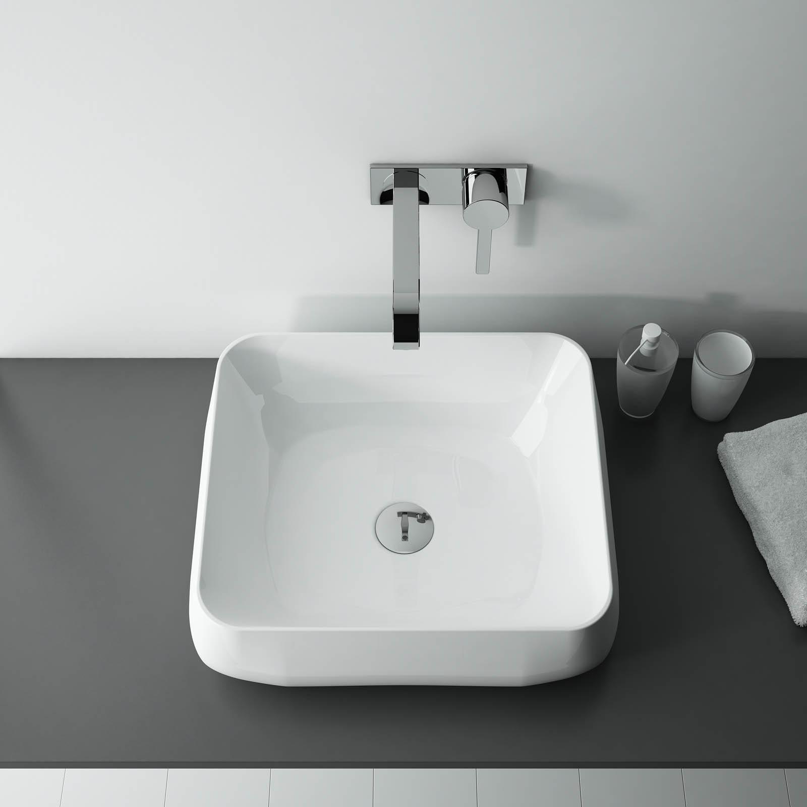 Umývadlo na dosku MANDY 45 x 40 cm 1