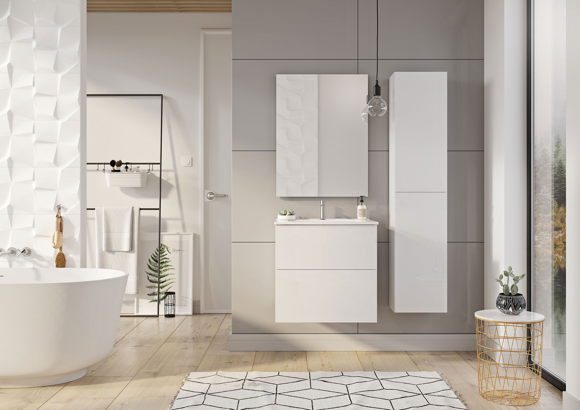 kúpeľňový nábytok SCARLET   LOTOSAN