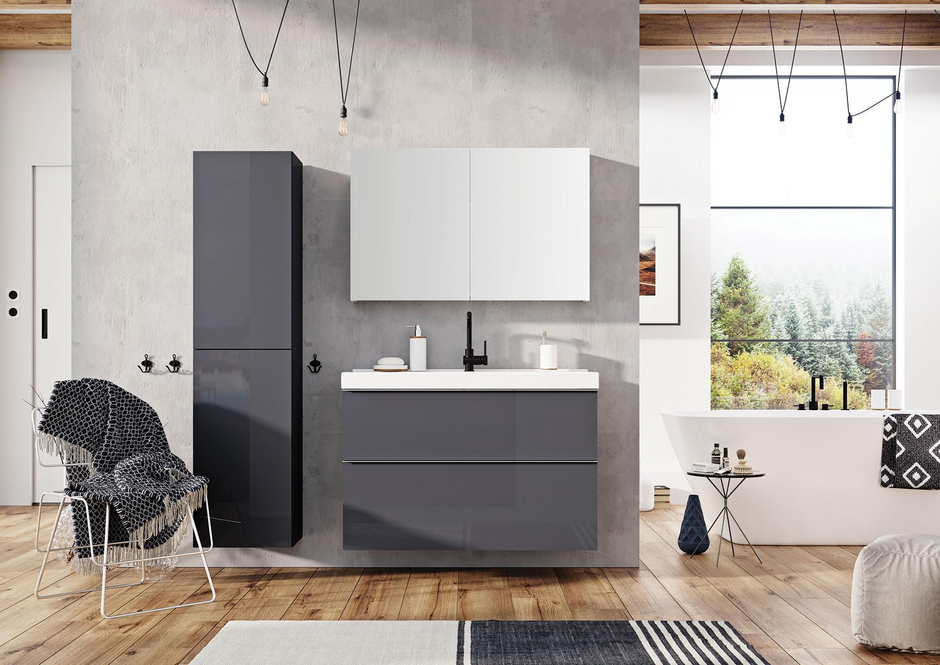 kúpeľňový nábytok SCARLET | LOTOSAN