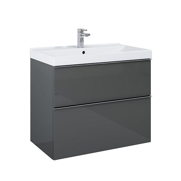 Skrinka pod umývadlo / dosku SCARLET 80 cm, 2 zásuvky