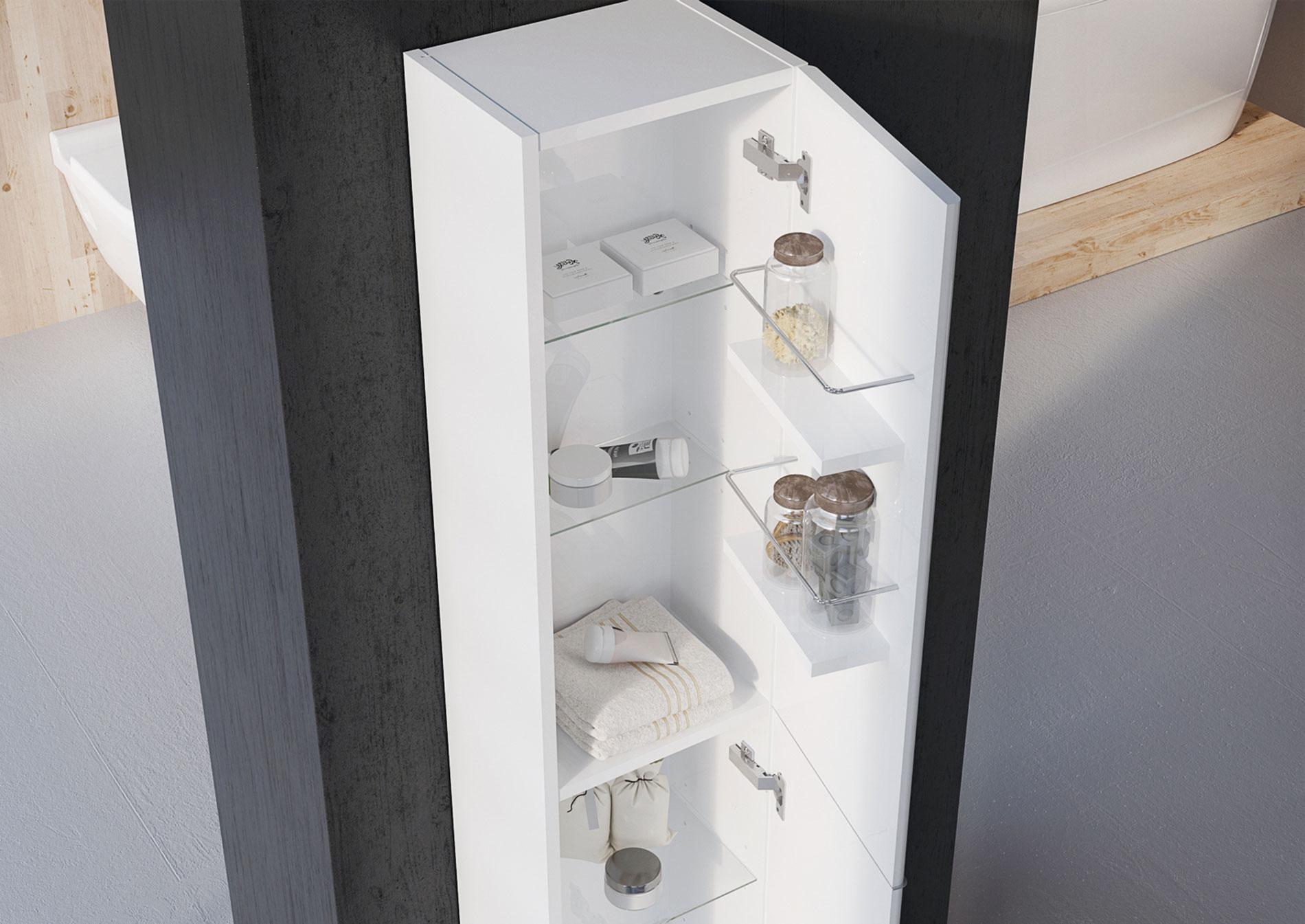 kúpeľňový nábytok TIARA | LOTOSAN
