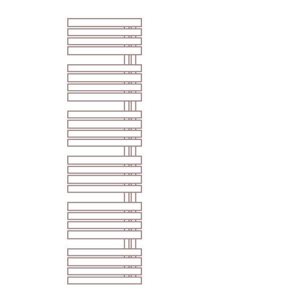 Radiátor FLORIDA 60 x 182 cm