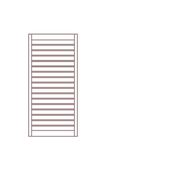 Radiátor NEVIS 60 x 104,7 cm