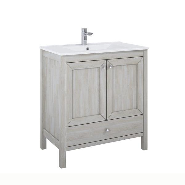Skrinka pod umývadlo / dosku stará biela 80 cm SENSEA | LOTOSAN Kúpeľne a Interiér