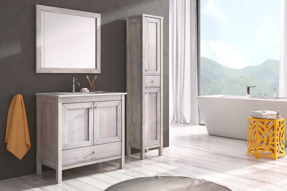 Skrinka pod umývadlo / dosku 80 cm SENSEA | LOTOSAN Kúpeľne a Interiér