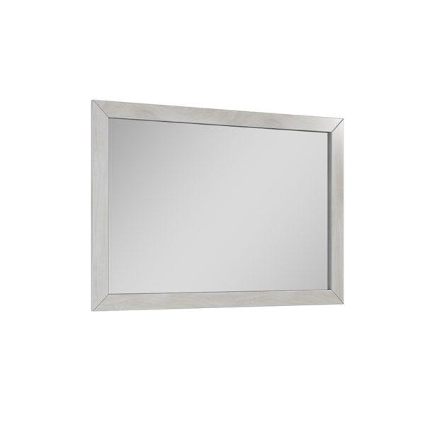 Zrkadlo stará biela 100 cm SENSEA | LOTOSAN Kúpeľne a Interiér