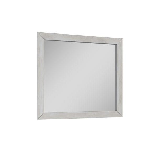 Zrkadlo stará biela 80 cm SENSEA | LOTOSAN Kúpeľne a Interiér
