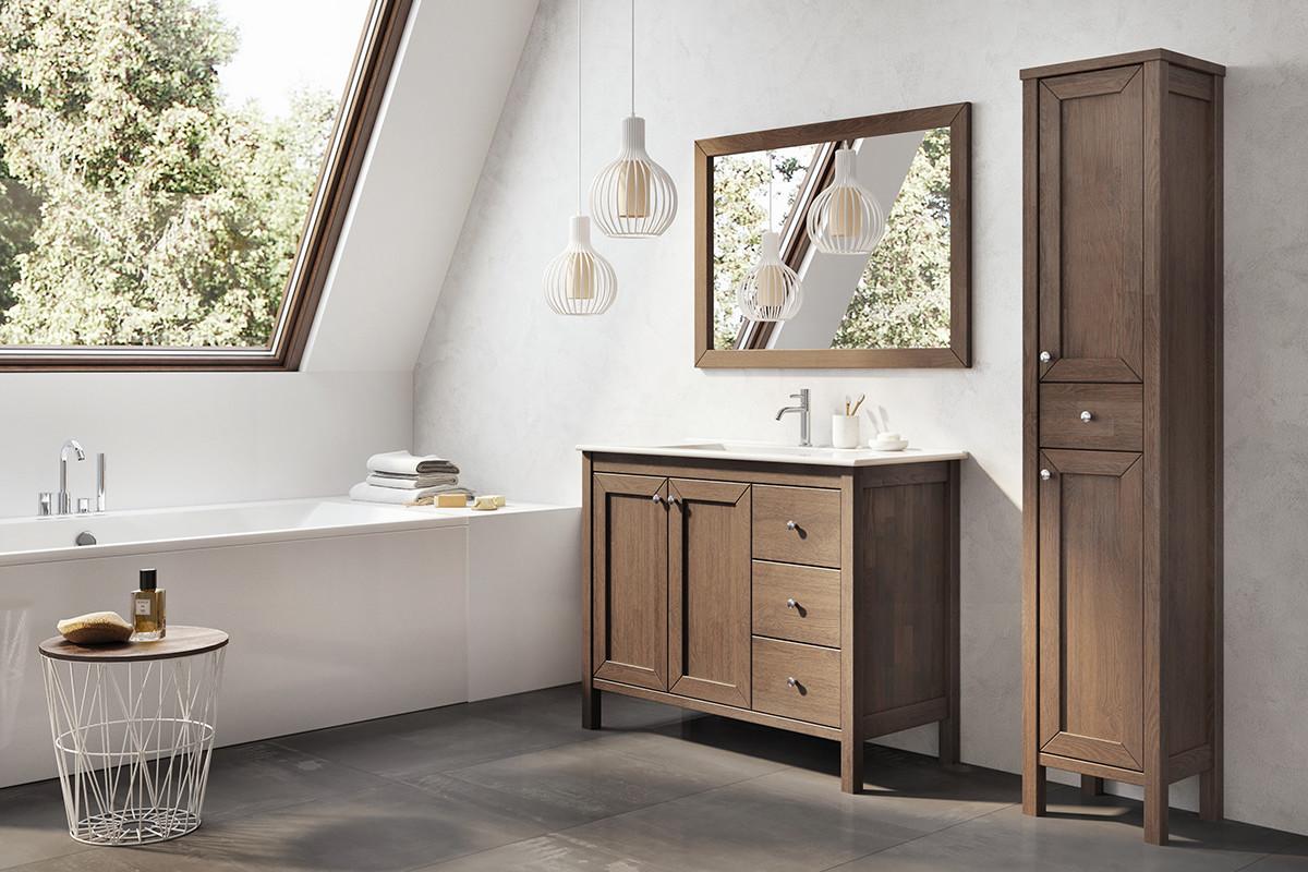 Zrkadlo 100 cm SENSEA | LOTOSAN Kúpeľne a Interiér