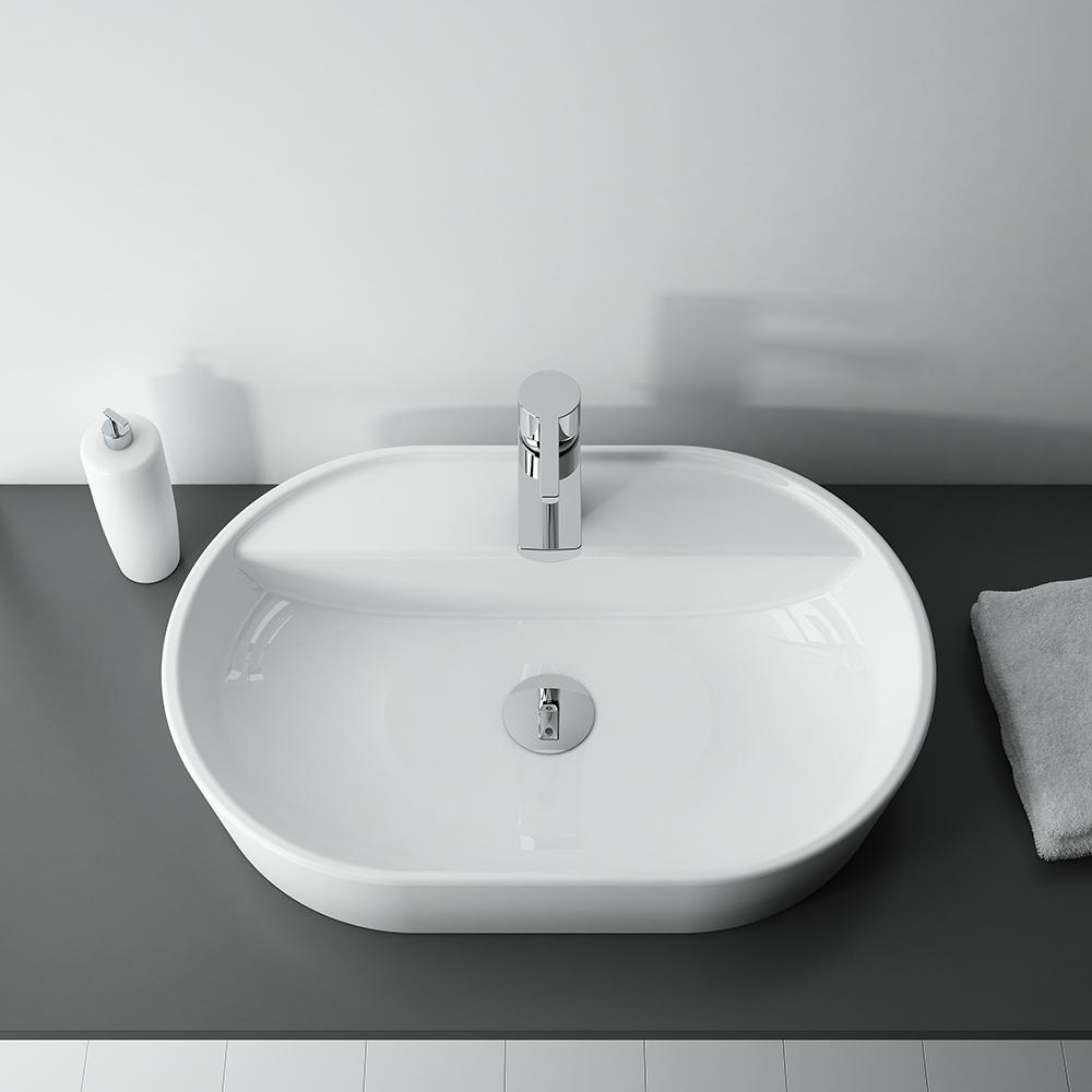 Umývadlo na dosku ARIA   LOTOSAN Kúpeľne a Interiér