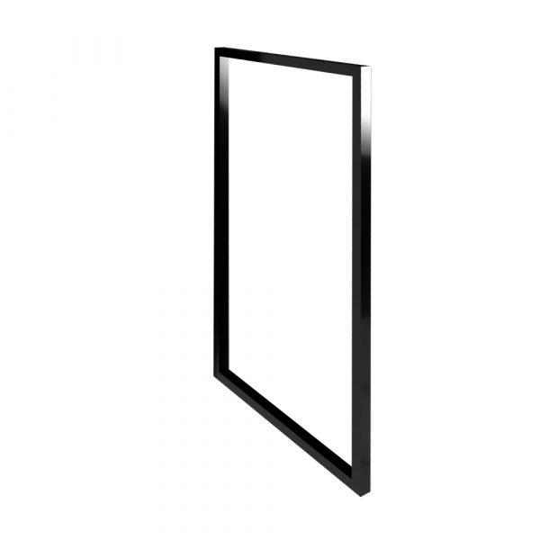 Bočný kovový rám SCARLET čierna 80cm   LOTOSAN Kúpeľne a interiér
