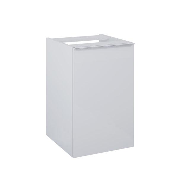 Kontajner s košom na prádlo SCARLET siva matna 40cm | LOTOSAN Kúpeľne a interiér