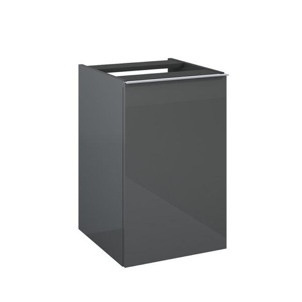 Kontajner s košom na prádlo SCARLET antracit 40cm | LOTOSAN Kúpeľne a interiér