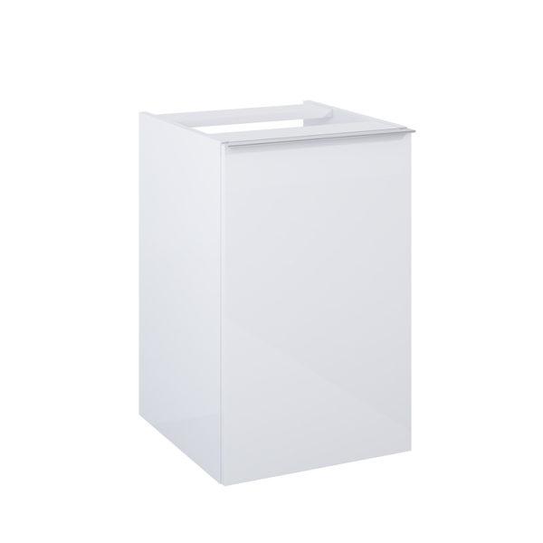 Kontajner s košom na prádlo SCARLET biela 40cm | LOTOSAN Kúpeľne a interiér