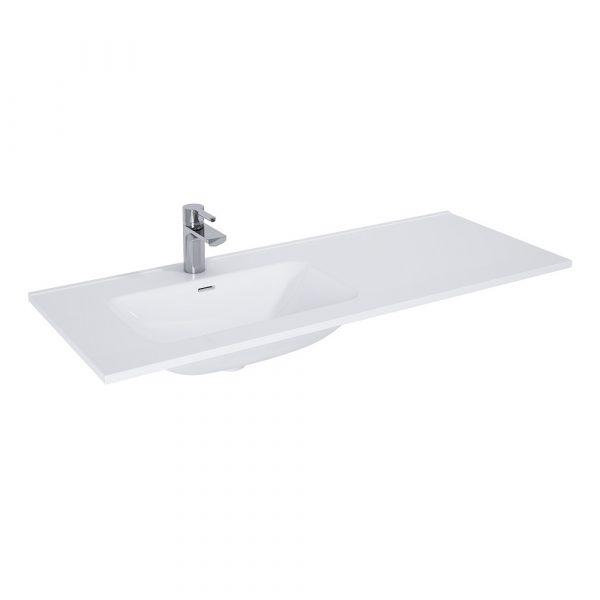 Nábytkové umývadlo asymetrické MAYLA 120   LOTOSAN Kúpeľne a Interiér