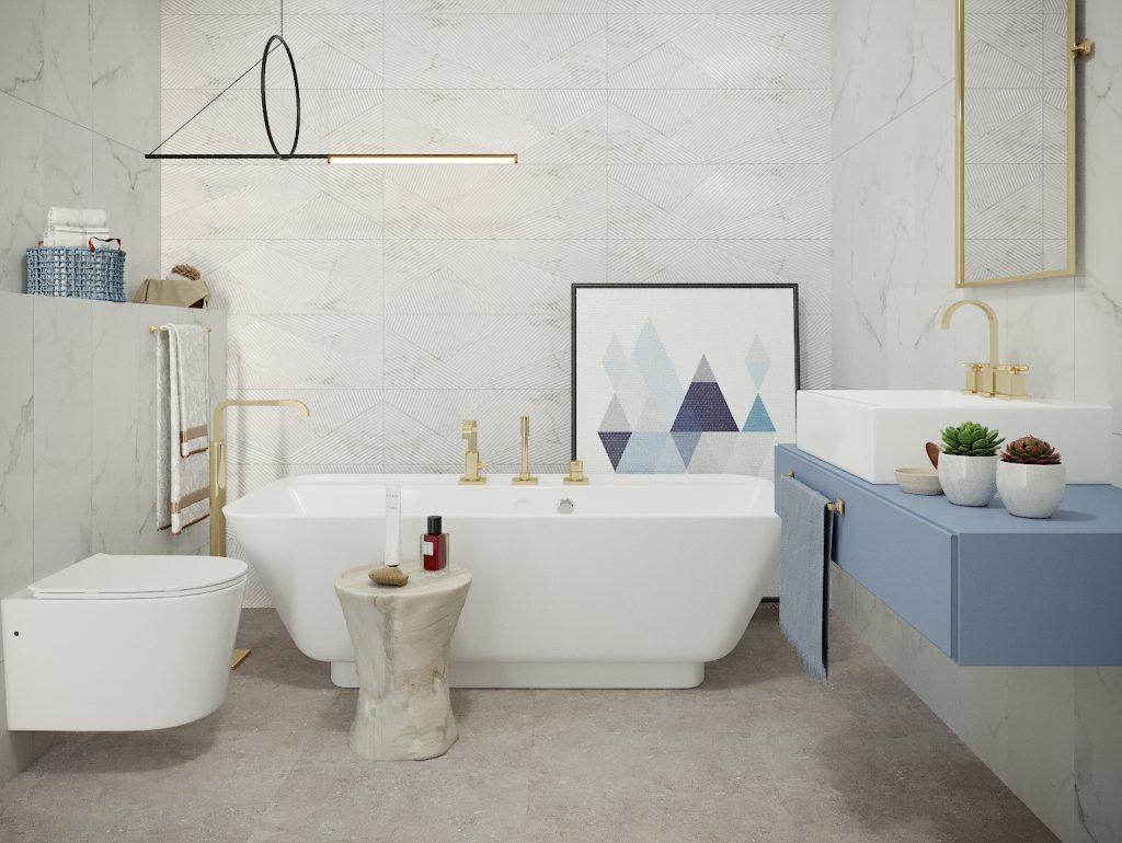 Obklad Alba 29,5 x 89 cm | LOTOSAN Kúpeľne a interiér