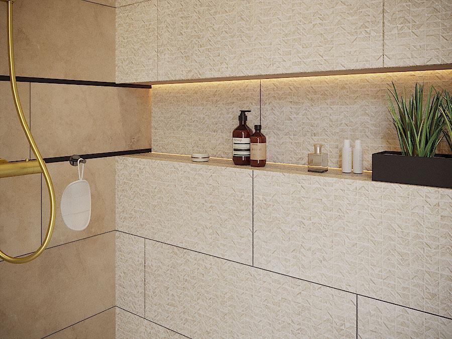 Obklad AMALFI 33,3 x 90 cm | LOTOSAN Kúpeľne a interiér