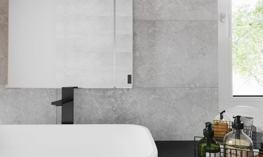 Obklad AMALFI 33,3 x 90 cm   LOTOSAN Kúpeľne a interiér