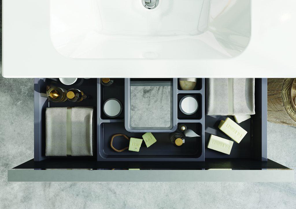 Organizéry do zásuvky   LOTOSAN Kúpeľne a Interiér