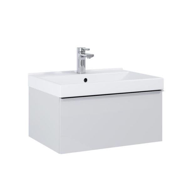 Skrinka pod umývadlo / dosku SCARLET sivá matna 60cm | LOTOSAN Kúpeľne a interiér