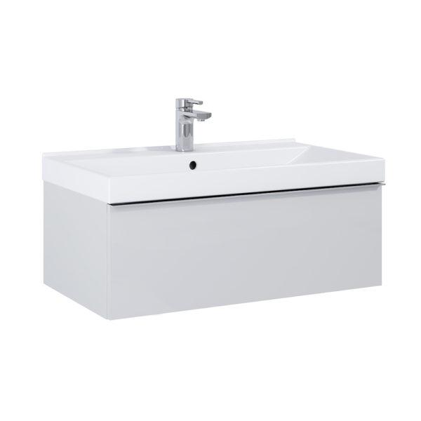 Skrinka pod umývadlo / dosku SCARLET sivá matna 80cm | LOTOSAN Kúpeľne a interiér