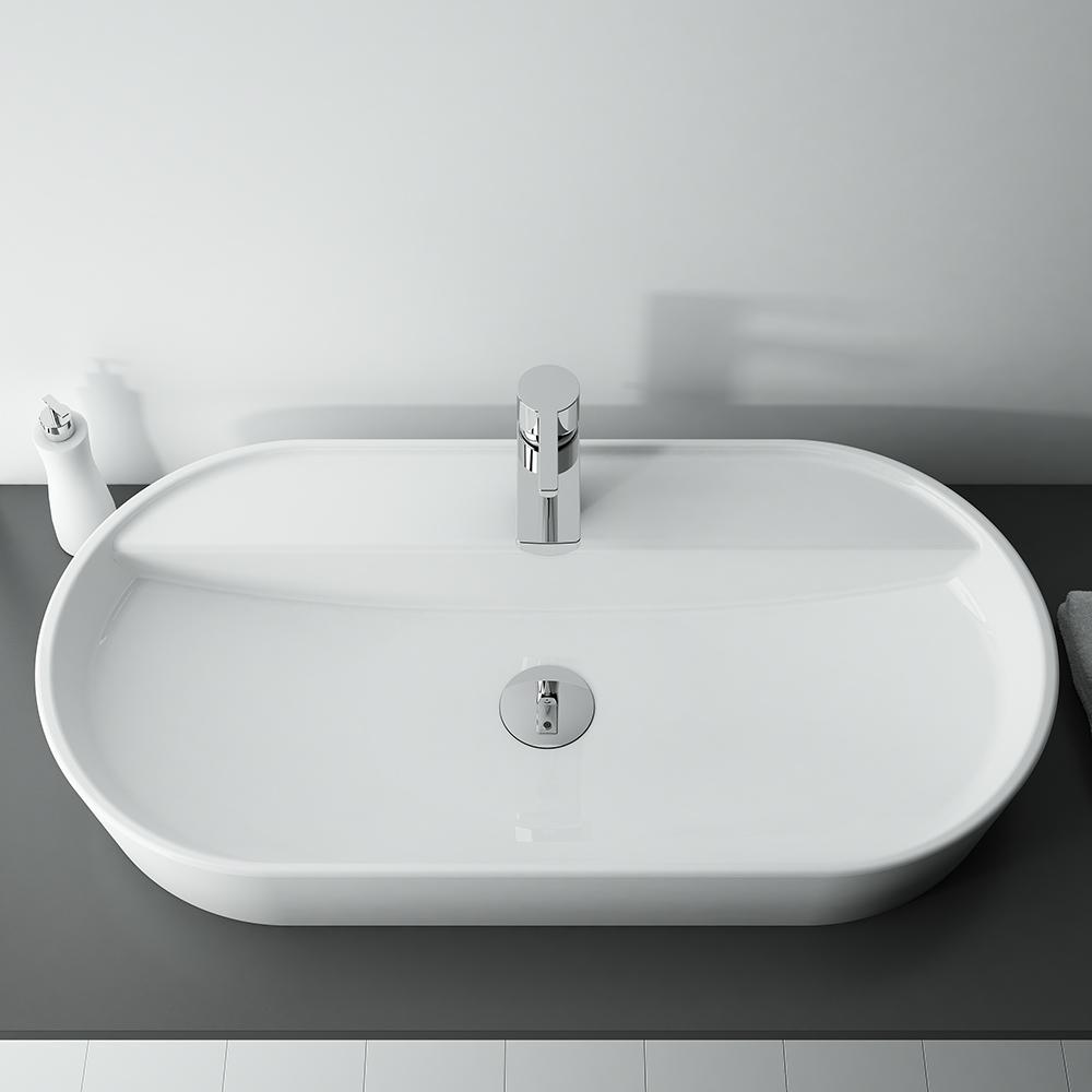 Umývadlo na dosku 80 cm ARIA   LOTOSAN Kúpeľne a Interiér
