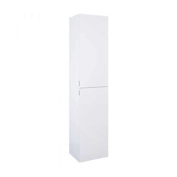 Vysoká bočná skrinka biela lesklá univerzálna 40cm   LOTOSAN Kúpeľne a interiér