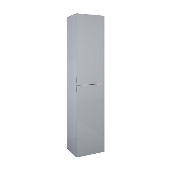 Vysoká bočná skrinka sivá lesklá univerzálna 40cm   LOTOSAN Kúpeľne a interiér