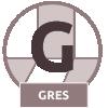 Gres - jednoliaty materiál, ktorý sa vyrába z kameňa. Gresová dlažba je veľmi odolná s nízkou nasiakavosťou.